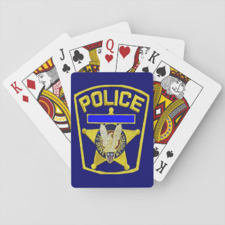 Police Shield Playing Cards