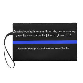 Police Support Bag Wristlet Purses