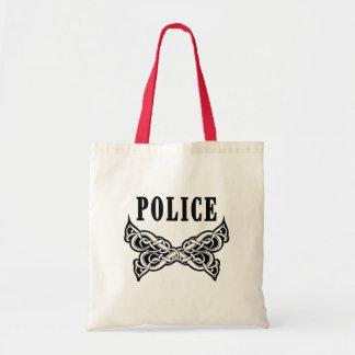 Police Tattoo Budget Tote Bag