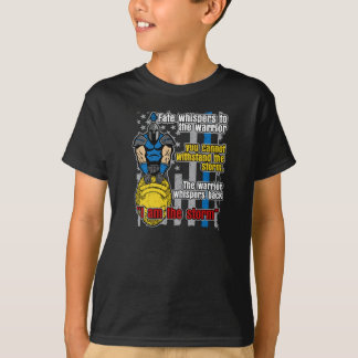 Police Trojan Warrior I Am The Storm T-Shirt