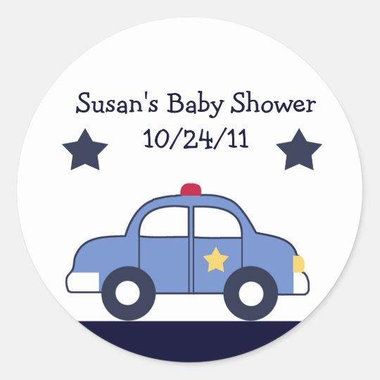 Police Vehicle/ Cop Car Stickers/Envelope Seals
