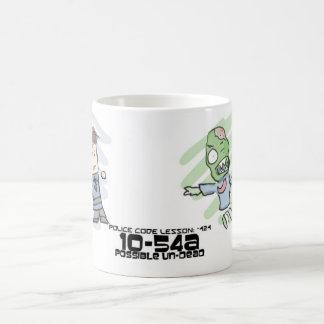 Police vs Undead Coffee Mug