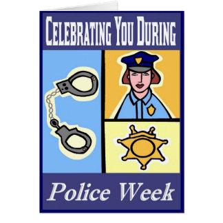 Police Week Greeting Card