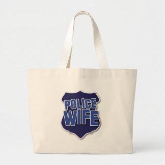 police wife tote bags