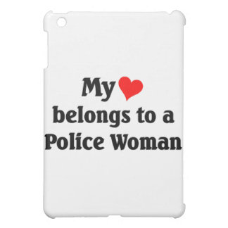 Police woman cover for the iPad mini