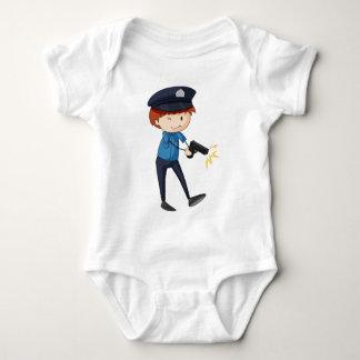 Policeman Baby Bodysuit