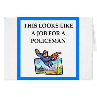 POLICEMAN CARD