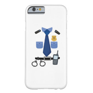 Policeman Halloween Costume Funny Barely There iPhone 6 Case