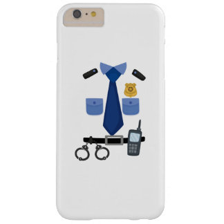 Policeman Halloween Costume Funny Barely There iPhone 6 Plus Case