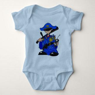 Policeman Kid Baby Bodysuit