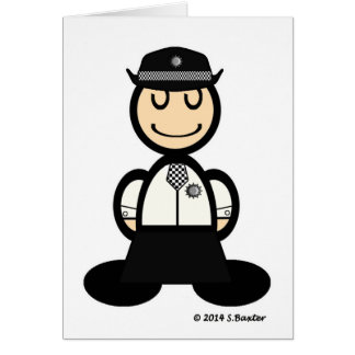 Policewoman (plain) card