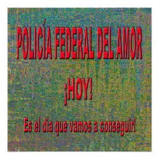 POLICÍA FEDERAL DEL AMOR POSTER