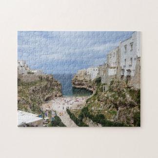 Polignano a Mare city beach, Puglia jigsaw puzzle