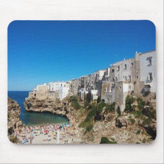 Polignano Mare Bari Italy beach landmark architect Mouse Pad