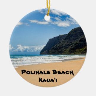 Polihale Kaua'i Keepsake Ceramic Ornament