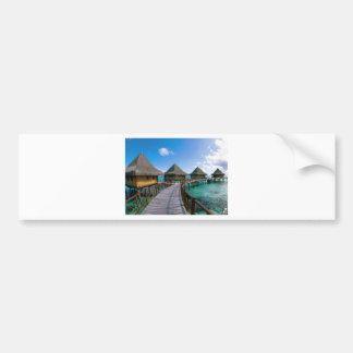 Polinesia Island Bumper Stickers