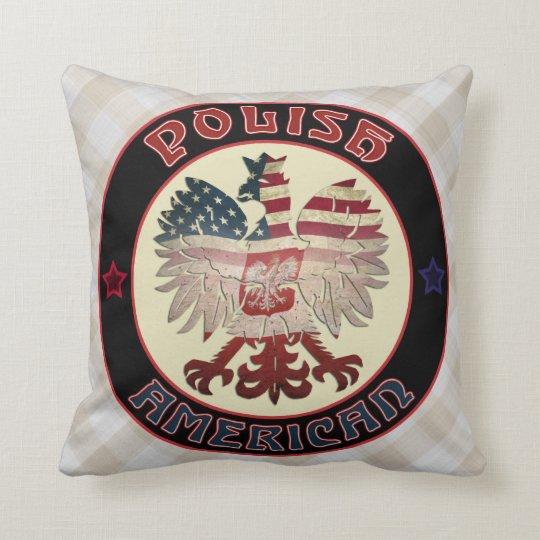 Polish American Eagle Pillow
