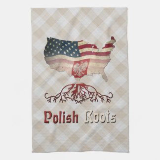 Polish American Roots Tea Towels