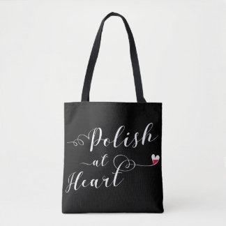 Polish At Heart Grocery Bag, Polish Tote Bag