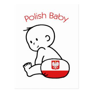 Polish Baby Postcard
