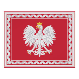 Polish Banner Poster