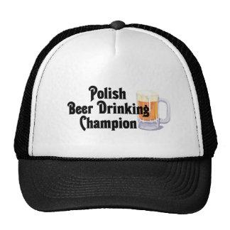 Polish Beer Drinking Champion Trucker Hat