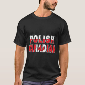 Polish Canadian Flag T-Shirt