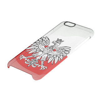 Polish Coat of arms Clear iPhone 6/6S Case