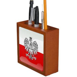 Polish Coat of arms Desk Organizer