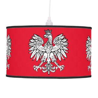 Polish Coat of arms Pendant Lamp