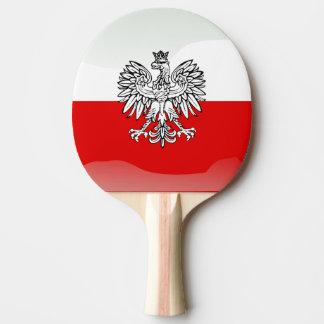 Polish Coat of arms Ping-Pong Paddle