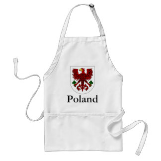 Polish Coat Of Arms Standard Apron