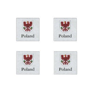 Polish Coat Of Arms Stone Magnets