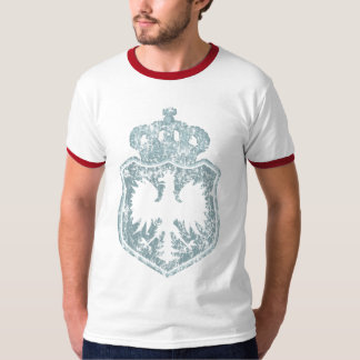 Polish Crest w/crown t shirt