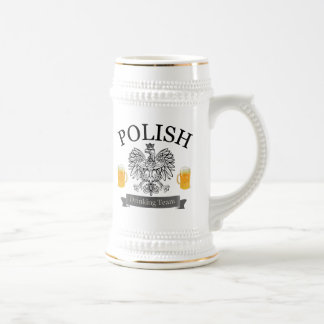 Polish Drinking Team Stein