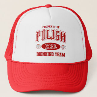 Polish Drinking Team Trucker Hat