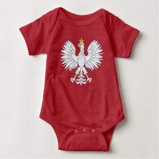 Polish Eagle Baby Bodysuit