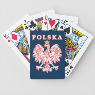 Polish Eagle Bicycle Playing Cards