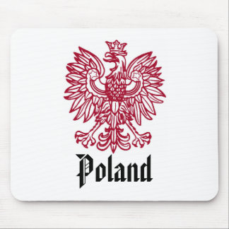 POLISH EAGLE CREST MOUSE PAD