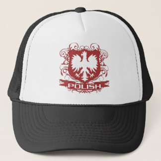 Polish Eagle Crest Trucker Hat