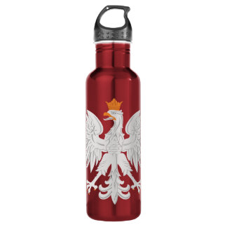 Polish Eagle Drink Water Liberty Bottle