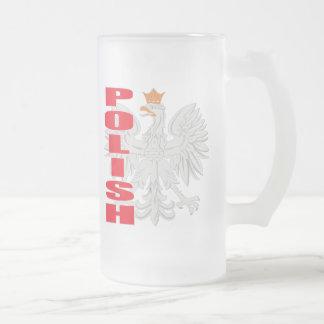 Polish Eagle Frosted Mug