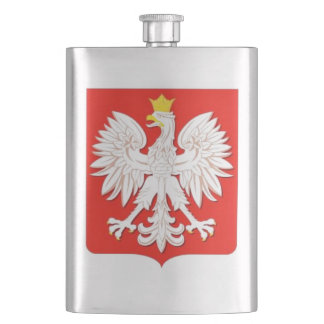 POLISH EAGLE HIP FLASK