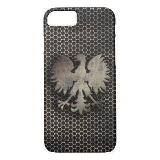 Polish Eagle Metal Style Look iPhone 7 Case