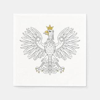 Polish Eagle Paper Napkin