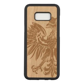 Polish Eagle Poland Flag Carved Samsung Galaxy S8+ Case