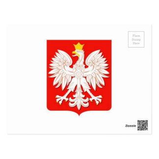 POLISH EAGLE POSTCARD