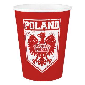 Polish Eagle Symbol Paper Cup