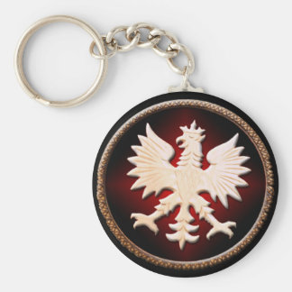 Polish Eagle Vintage Keychain