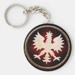 Polish Eagle Vintage Keychains